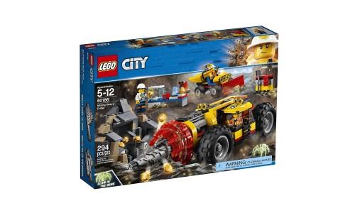 Конструктор LEGO Город Тяжелый бур для горных работ
