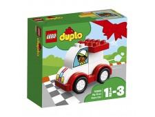 Конструктор LEGO Дупло Мой первый гоночный автомобиль - 10860