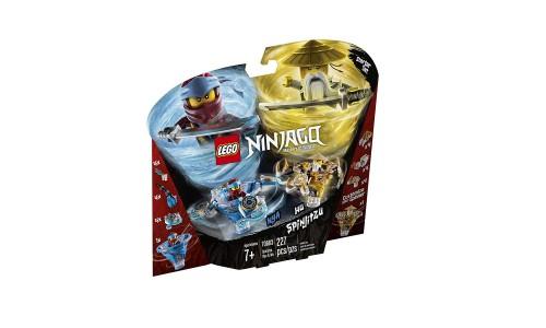 Конструктор LEGO Ninjago «Ния и Ву: мастера Кружитцу»