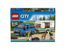 LEGO City 60117 Фургон и дом на колёсах - 60117