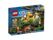 Конструктор LEGO City Jungle Explorer 60158 Грузовой вертолёт  - 60158