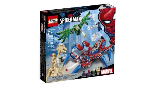 Конструктор LEGO Super Heroes Человек-паук: Паучий вездеход