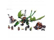 Конструктор LEGO Ninjago 70593 Зелёный Дракон - 70593