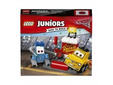 Конструктор LEGO Juniors 10732 Пит-стоп Гвидо и Луиджи - 10732