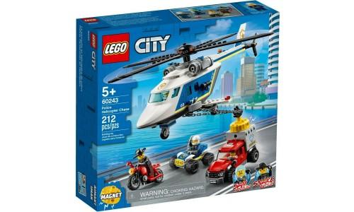 Конструктор LEGO City Погоня на полицейском вертолёте
