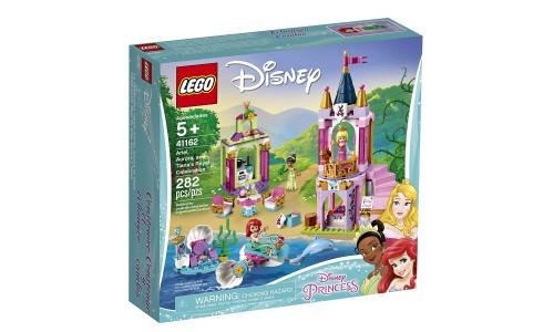 Конструктор LEGO Princess Disney «Королевский праздник Ариэль, Авроры и Тианы»