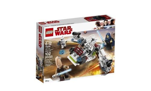 Конструктор LEGO Star Wars Боевой набор джедаев и клонов-пехотинцев