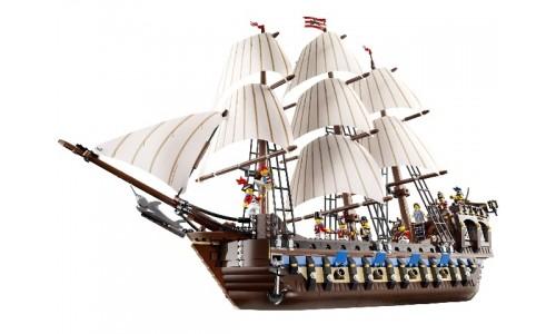 Огромный трехмачтовый имперский флагман 10210 Лего Эксклюзив (Lego Exclusive)