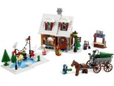 Пекарня в зимней деревне - 10216