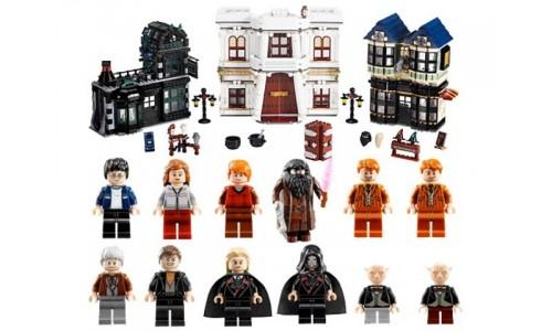 Косой переулок 10217 Лего Гарри Поттер (Lego Harry Potter)