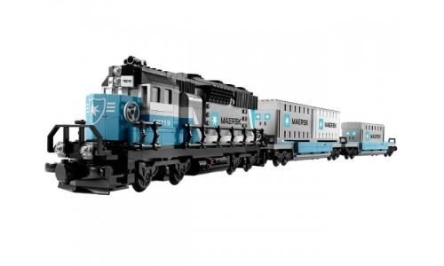 Товарный поезд Майорск 10219 Лего Эксклюзив (Lego Exclusive)