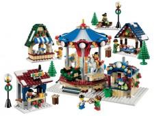 Зимний деревенский рынок - 10235