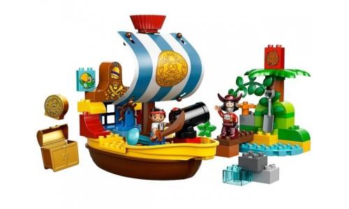 Пиратский корабль Джейка 10514 Лего Дупло (Lego Duplo)