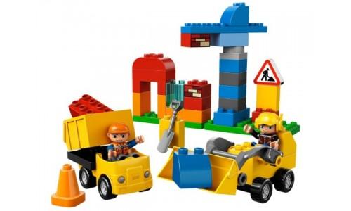 Моя первая стройплощадка 10518 Лего Дупло (Lego Duplo)