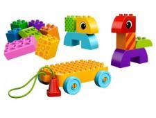 Веселая каталка с кубиками - 10554