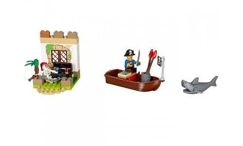 Охота за сокровищами 10679 Лего Джуниорс (Lego Juniors)