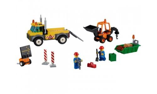 Ремонт дороги 10683 Лего Джуниорс (Lego Juniors)