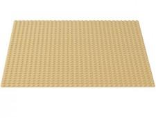 Строительная пластина жёлтого цвета - 10699