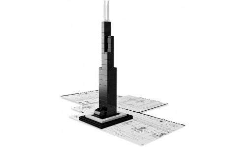 Уиллис Тауэр 21000 Лего Архитектура (Lego Architecture)