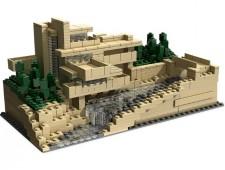 Дом над водопадом - 21005