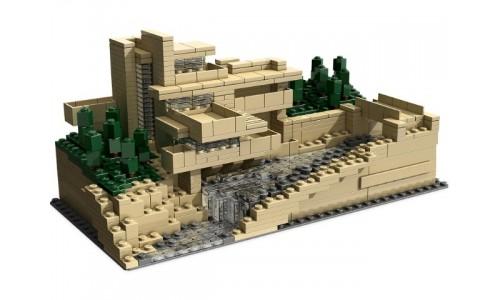 Дом над водопадом 21005 Лего Архитектура (Lego Architecture)