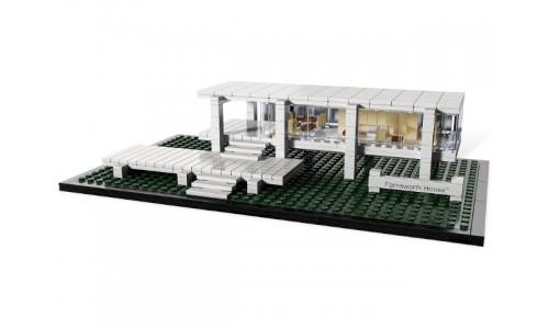 Дом Фарнсуорта (Стеклянный дом) 21009 Лего Архитектура (Lego Architecture)