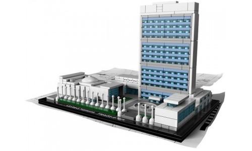 Штаб-квартира ООН 21018 Лего Архитектура (Lego Architecture)