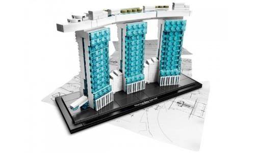 Marina Bay Sands 21021 Лего Архитектура (Lego Architecture)