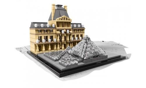 Лувр 21024 Лего Архитектура (Lego Architecture)