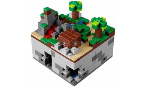 Майнкрафт микро мир: Лес 21102 Лего Майнкрафт (Lego Minecraft)
