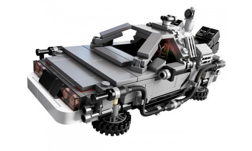Назад в будущее: DeLorean машина времени 21103 LEGO Ideas (CUUSOO)