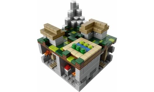 Майнкрафт микро мир: Деревня 21105 Лего Майнкрафт (Lego Minecraft)