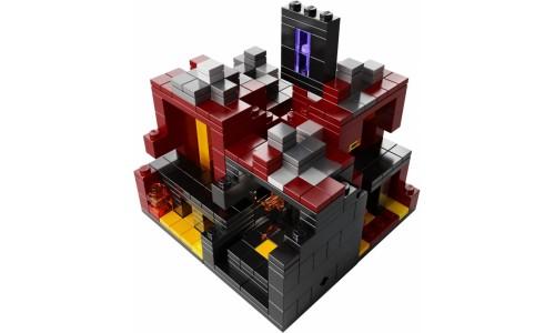 Майнкрафт микро мир: Нижний мир 21106 Лего Майнкрафт (Lego Minecraft)