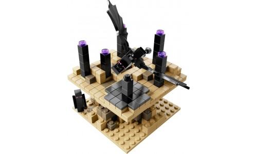 Майнкрафт микро мир: Край 21107 Лего Майнкрафт (Lego Minecraft)