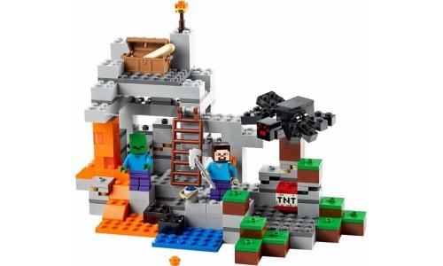 Пещера 21113 Лего Майнкрафт (Lego Minecraft)