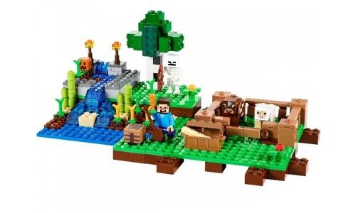 Ферма 21114 Лего Майнкрафт (Lego Minecraft)