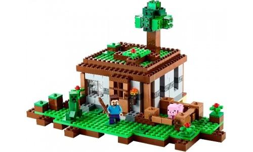 Первая ночь 21115 Лего Майнкрафт (Lego Minecraft)