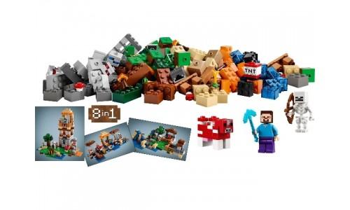 Креативный набор 8 в 1 21116 Лего Майнкрафт (Lego Minecraft)