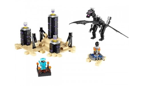 Дракон Края 21117 Лего Майнкрафт (Lego Minecraft)