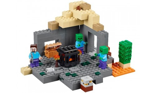 Подземелье 21119 Лего Майнкрафт (Lego Minecraft)