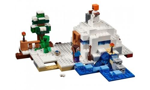 Снежное укрытие 21120 Лего Майнкрафт (Lego Minecraft)