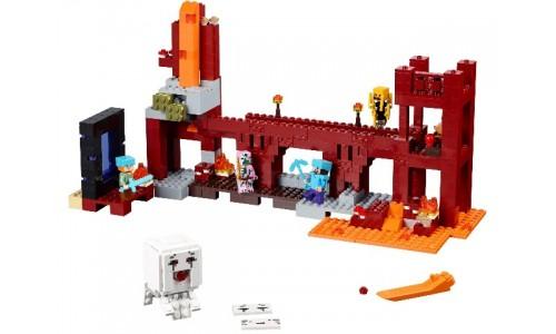 Крепость Нижнего мира 21122 Лего Майнкрафт (Lego Minecraft)