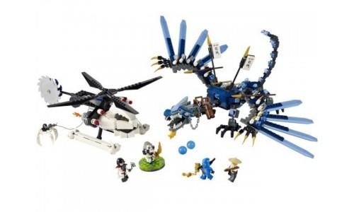 Битва Дракона-Молнии 2521 Лего Ниндзя Го (Lego Ninja Go)