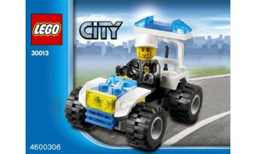 Полицейский квадроцикл 30013 Лего Промо наборы (Lego PROMO sets)
