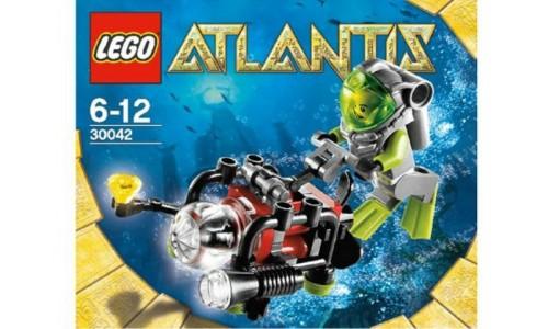Мини субмарина 30042 Лего Промо наборы (Lego PROMO sets)