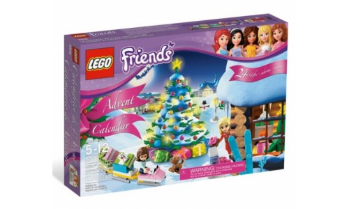 Новогодний календарь Friends 3316 Лего Подружки (Lego Friends)