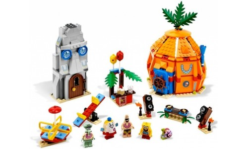 Подводная вечеринка в Бикини Боттом 3818 Лего Губка Боб (Lego Sponge Bob)