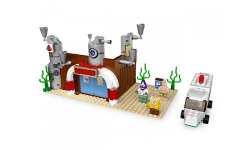 Спанч Боб в скорой помощи 3832 Лего Губка Боб (Lego Sponge Bob)