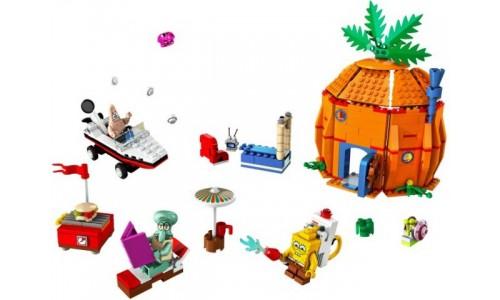 Дружные соседи и Бикини Боттом 3834 Лего Губка Боб (Lego Sponge Bob)