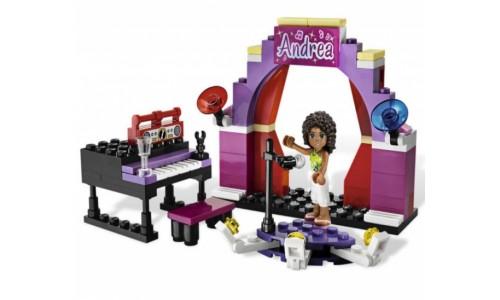 Андреа на сцене 3932 Лего Подружки (Lego Friends)